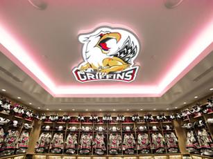 Van Andel Arena- Griffins Locker Room