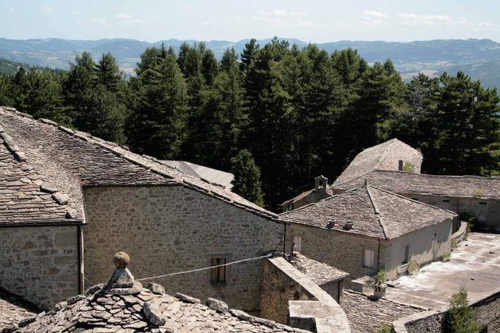 I tetti del castello