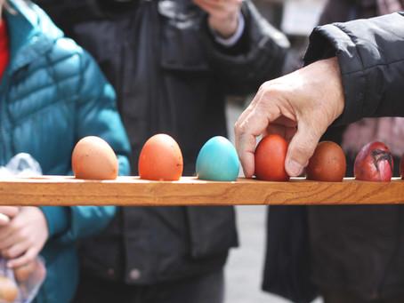 Lo scoccetto: il gioco di Pasqua della tradizione