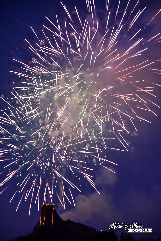 castello di sestola, fuochi d'artificio