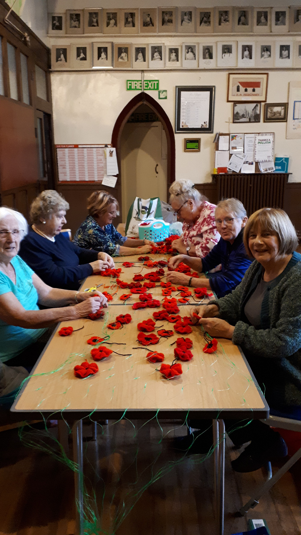 Whiston Craft  Group Poppies