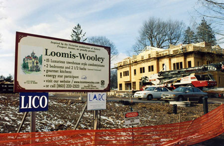 Loomis Wooley Construction Site