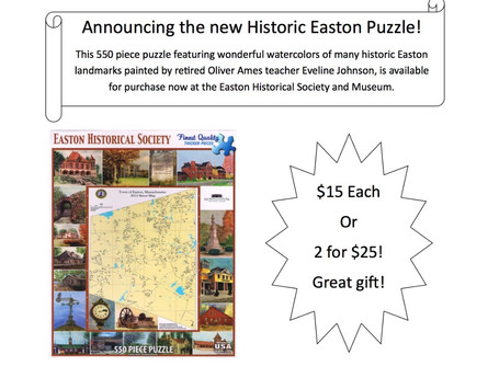 Announcing the Easton Historic Puzzle