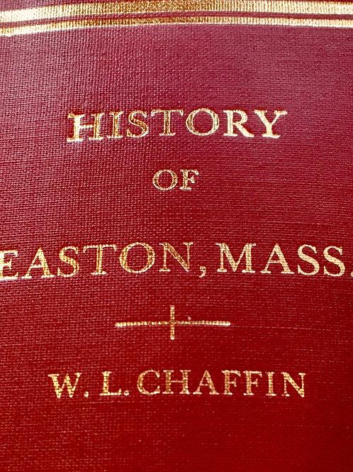 History of Easton Volume 1 1886