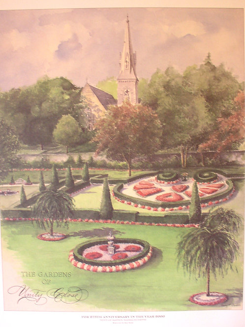 The Gardens of Unity Close by Mary Bodio.