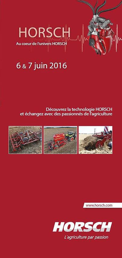 visite usine démonstrations horsch schwandorf 2016