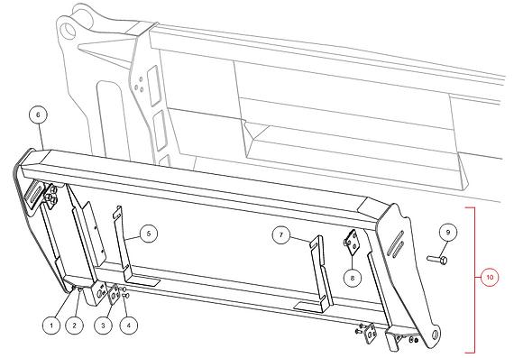 Cadre complet adaptation JD CAPELLO M3-50002
