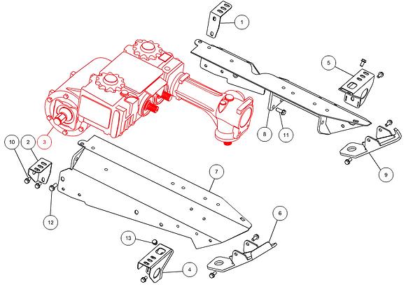 Boîtier d'entrainement complet CAPELLO M1-80179