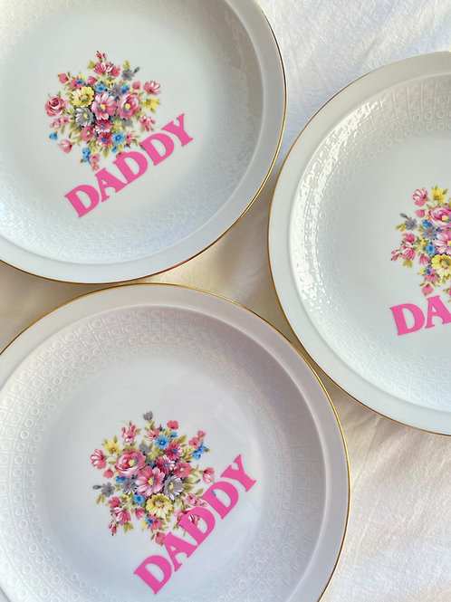 DADDY VINTAGE PLATE