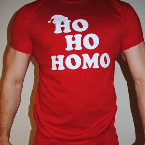 HO HO HOMO (red)