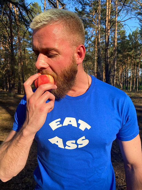 EAT ASS (blue)