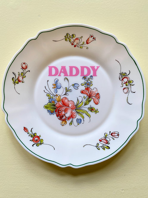 DADDY VINTAGE PLATE 2.0