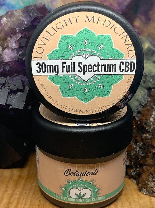 30mg Full Spectrum CBD Capsules