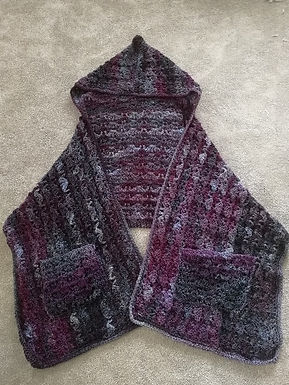 Snapdragon Hooded Wrap