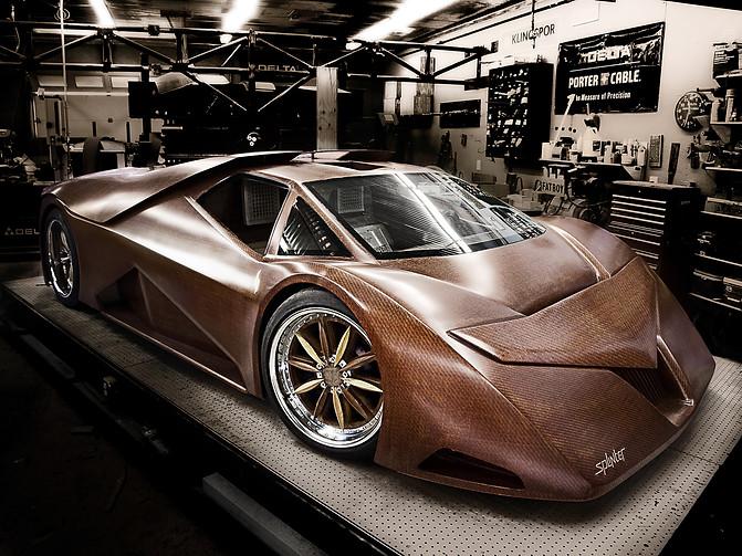 The Splinter Supercar