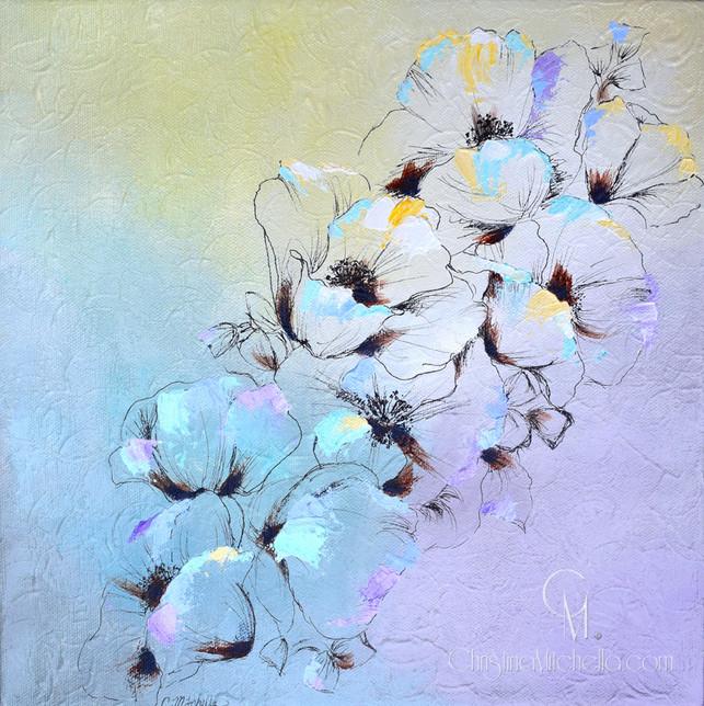Pastel Peonies Bloom