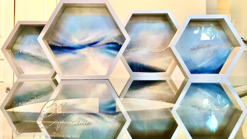 Transforming Glory Hexagons