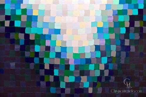 Light Through Textured Glass