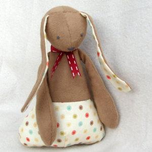 doudou lapin - ma petite manufacture