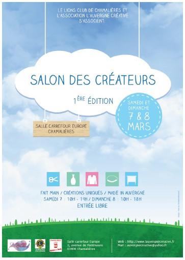 Le salon des créateurs, Chamalières, 7 et 8 Mars 2015