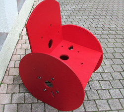 fauteuil rouge 2