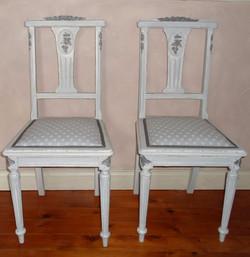 chaise ancienne rénovée