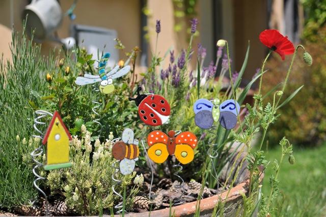décoration jardin petits sujets