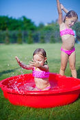 Creative Learning Center - Making a splash at camp