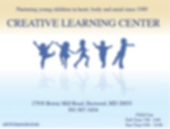 Creative Learning Center - Contact Us!