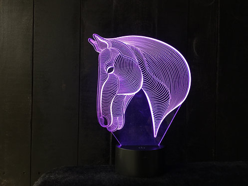 3D Horse LED Horse Light
