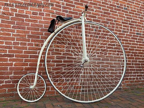 "Penny Farthing 51"" / Handmade High Wheel Bicycle"