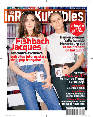 Fishbach & Jacques for les Inrocks by Alice Moitié