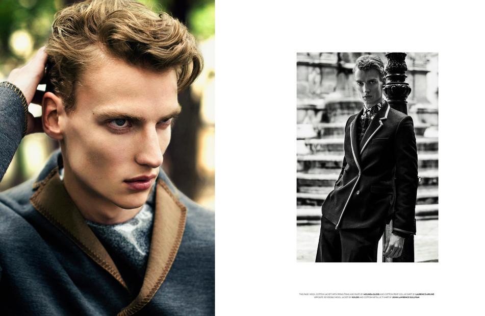 Flaunt Magazine by Olivier Kearon