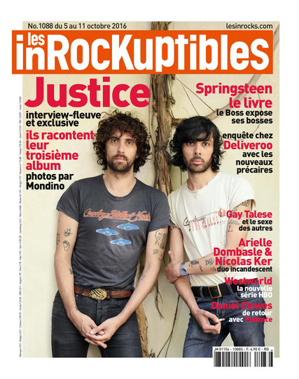 Justice for les Inrocks by Jean Baptiste Mondino