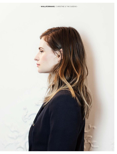 Christine And the Queens for Now by Bettina Genten