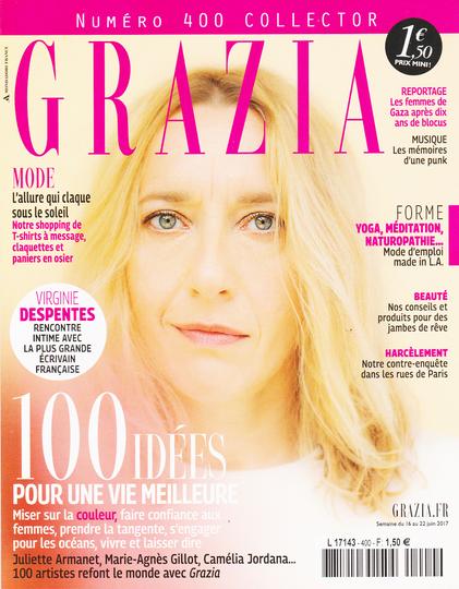 Virginie Despentes for Grazia by Paul Rousteau