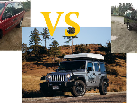 Price Comparison: 4x4 Rental vs Camper Van Rental