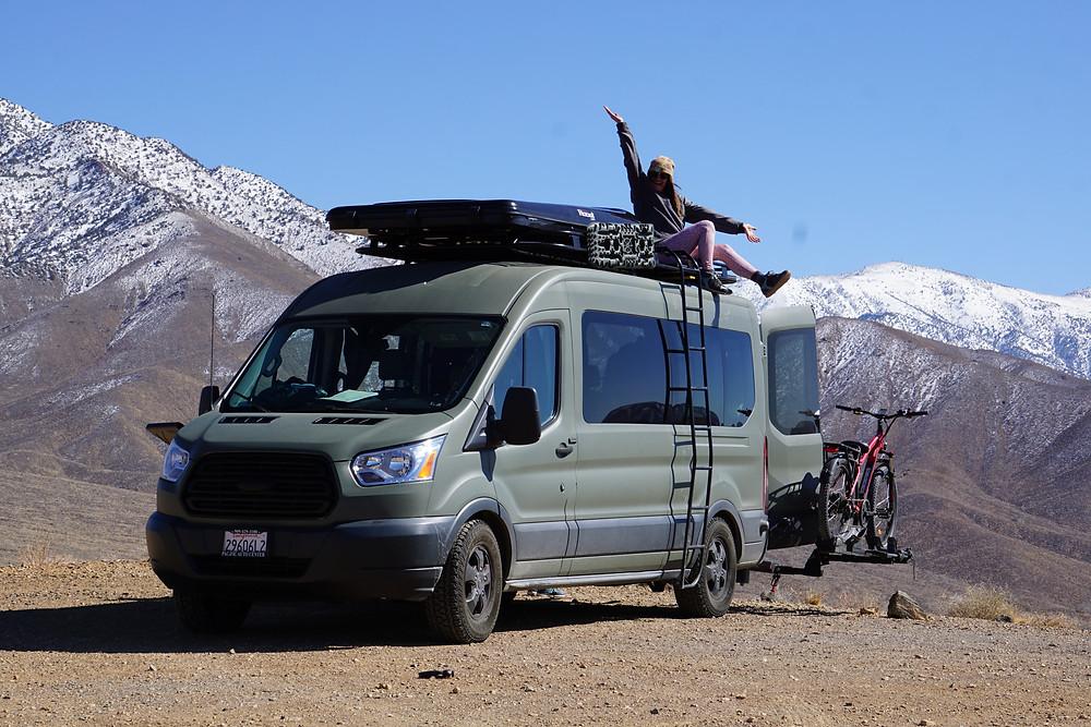 Camper van off-road overland san diego rental
