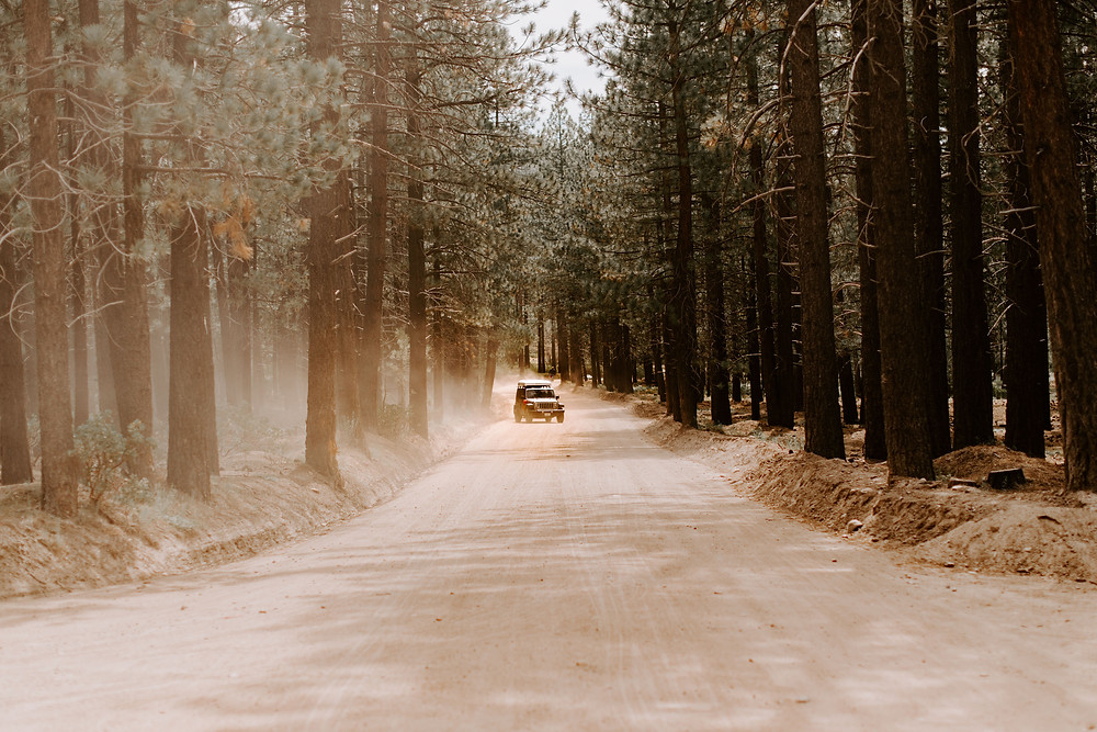 Jeep overland camper Yosemite