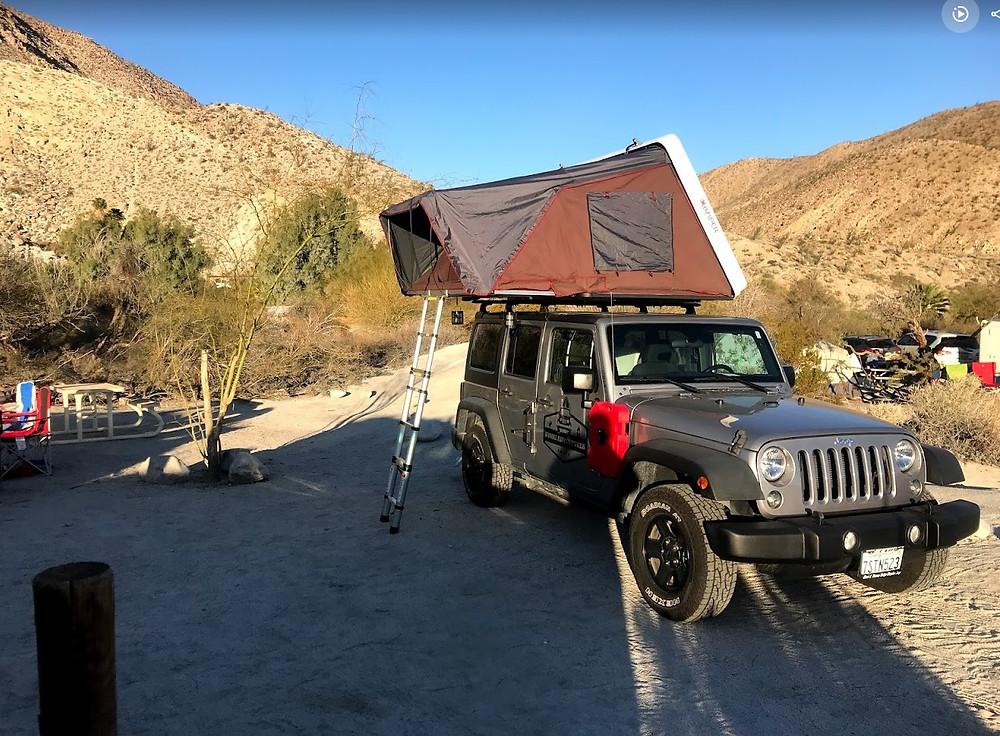 San Diego Roof Top Tent Rental