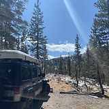 Yosemite camping 4x4