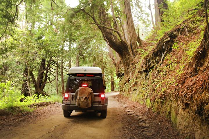 Overland Jeep Yosemite