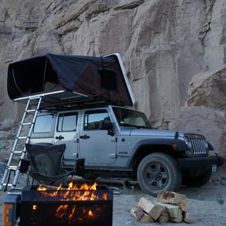 Camping in Anza Borrego