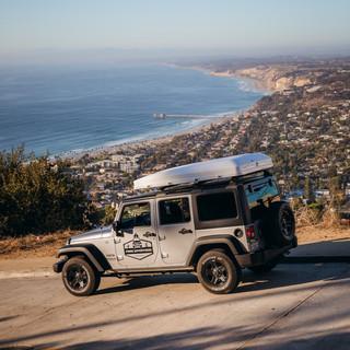 Camping near the ocean San Diego