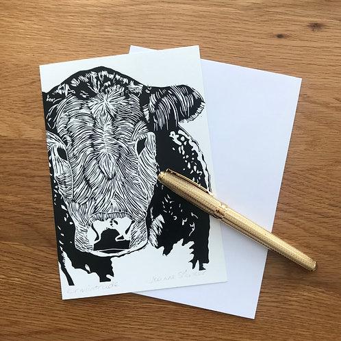 Blank Greetings Card | Ermintrude