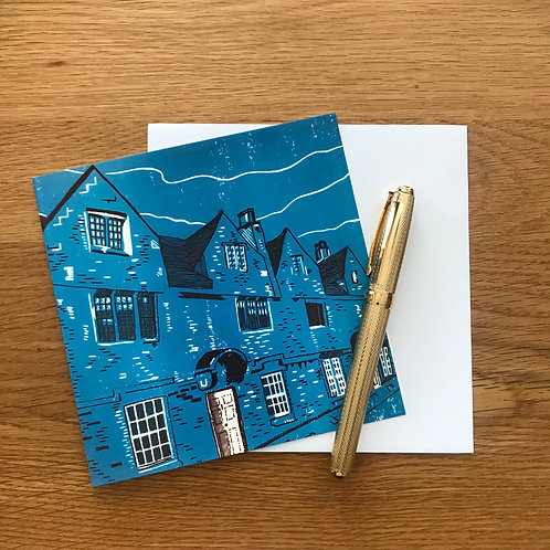 Blank Greetings Card | Weavers' Cottages