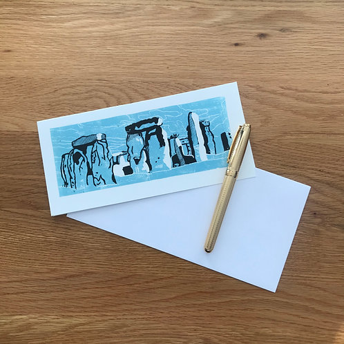 Blank Greetings Card | Stonehenge