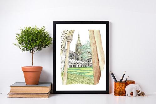 Salisbury Cathedral - Artist Print