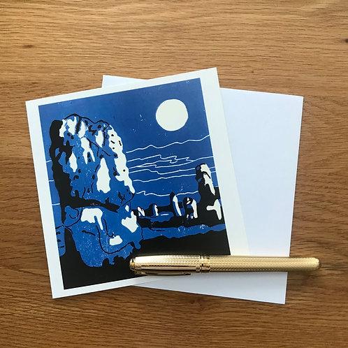 Blank Greetings Card | Avebury