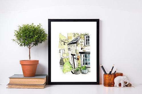 Barton Steps - Artist's Print